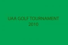 UAA GOLF TOURNAMENT 2010