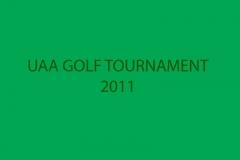 UAA GOLF TOURNAMENT 2011